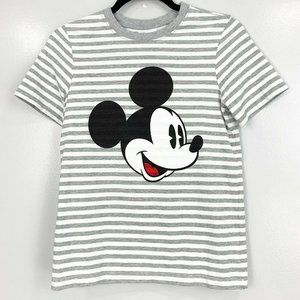 Hanna Andersson Disney Striped Mickey Mouse Top